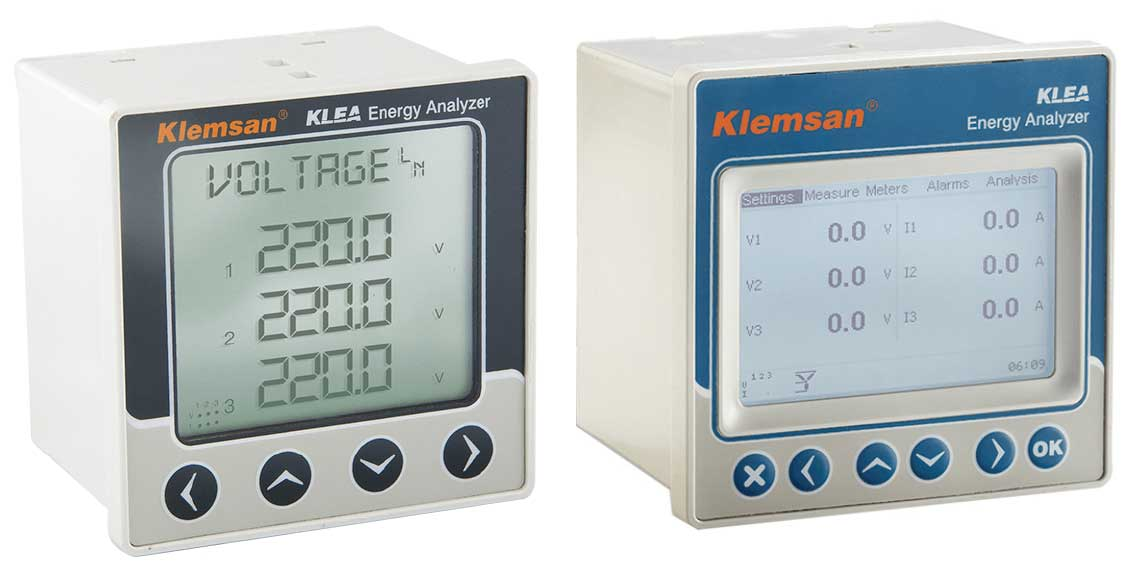 ENERGY METER TRIFASE 96x96 da Pannello RS485
