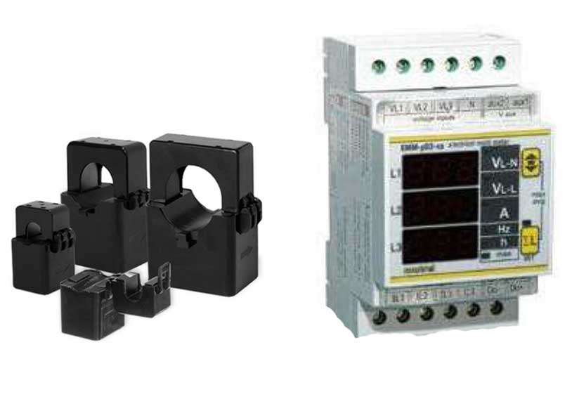 5 A or 333mV SECONDARY CT INPUT ENERGY METERS